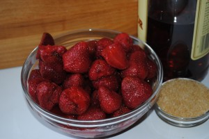 Mascerated Strawberries