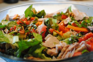turkey summer salad