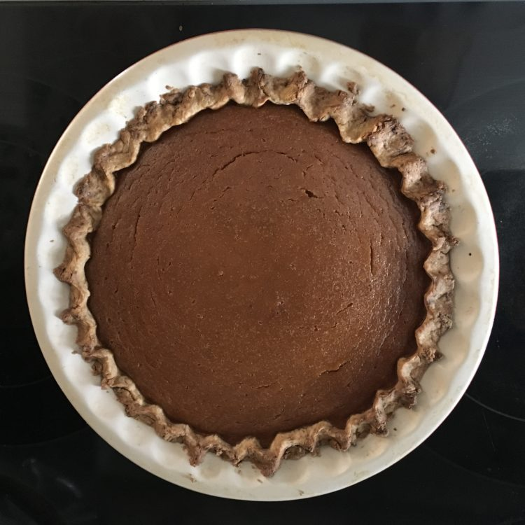 Pumpkin Pie with Oil Based Crust | photo credit: gourmetmetrics