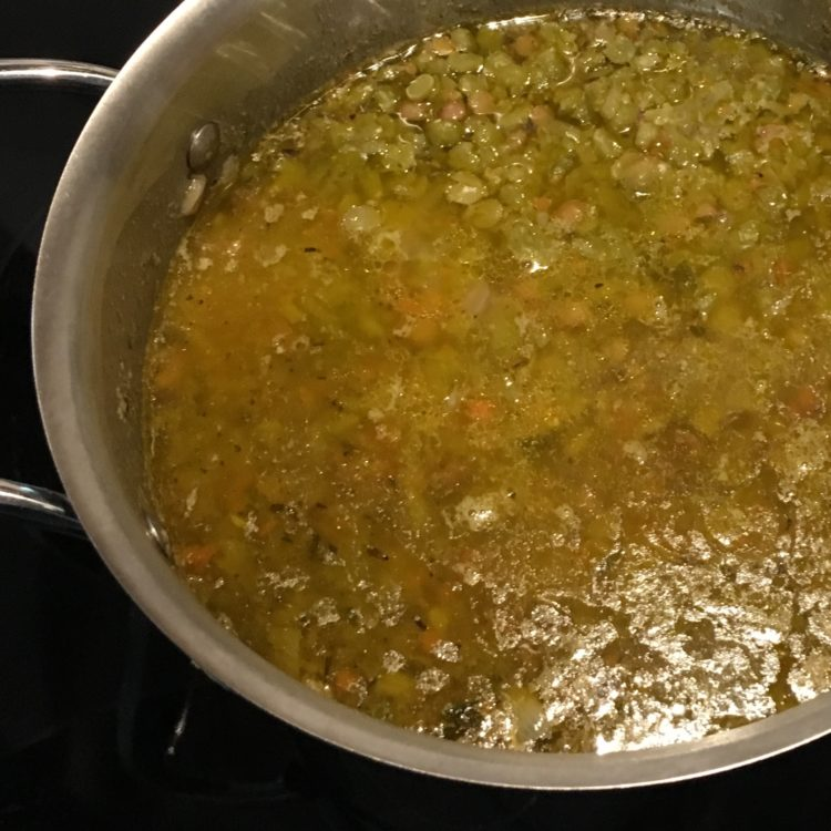 Green Pea Soup | Photo Credit: gourmetmetrics